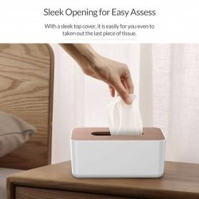 Orico Kotak Tisu Multifungsi dengan Storage Box - TMB-16 - White - 7