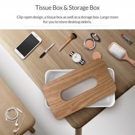 Orico Kotak Tisu Multifungsi dengan Storage Box - TMB-16 - White - 8