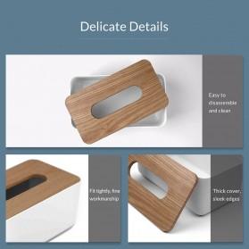 Orico Kotak Tisu Multifungsi dengan Storage Box - TMB-16 - White - 9