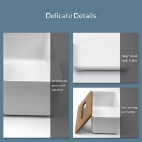 Orico Kotak Tisu Multifungsi dengan Storage Box - TMB-16 - White - 10