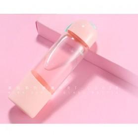 Remax Mira Botol Minum Kaca 300ml - RT-CUP28 - Pink - 2