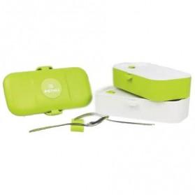 Remax Kotak Makan 2 Tingkat - RT-BT01 - Green