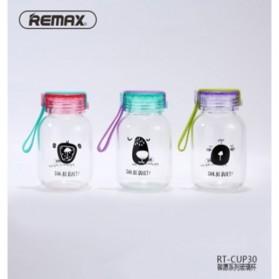 Remax Botol Minum Be Quiet Pattern 250ML - RT-CUP30 - Purple - 2