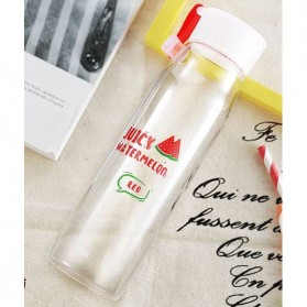 Remax Botol Minum Transparan 400ml - RT-CUP25 - Red