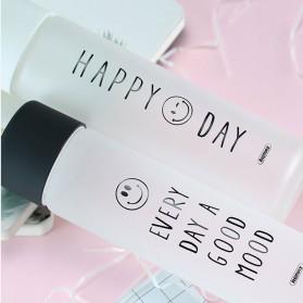 Remax Tumbler Botol Minum Kaca Smiley 330ml - RT-CUP39 - White - 2