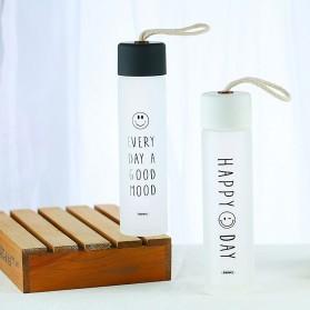 Remax Tumbler Botol Minum Kaca Smiley 330ml - RT-CUP39 - White - 3