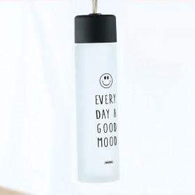 Remax Tumbler Botol Minum Kaca Smiley 330ml - RT-CUP39 - White - 4