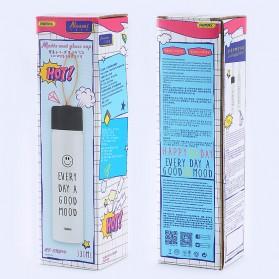 Remax Tumbler Botol Minum Kaca Smiley 330ml - RT-CUP39 - White - 6