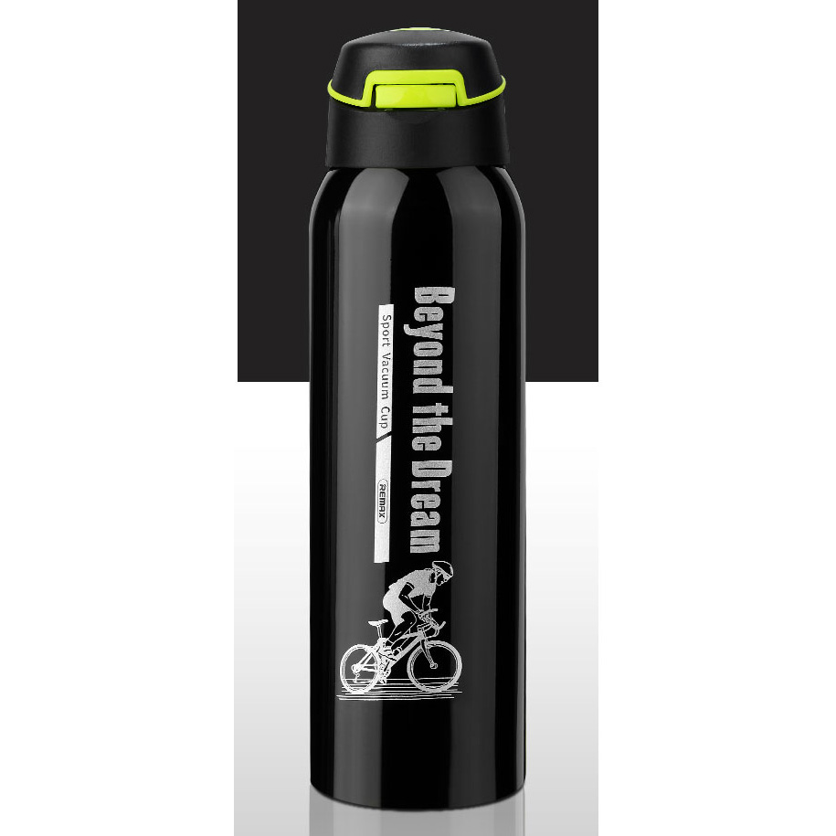Remax Botol Termos Sport 500ml Rt Cup48 Black My Bottle 1