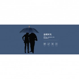 Remax Payung Hujan Tahan Angin - RT-U12 - Dark Blue - 5