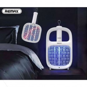 Remax Life Juzen Raket Pembasmi Nyamuk UV LED 360 Portable - RL-LF07 - White - 1