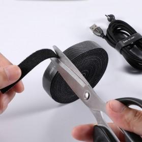 Baseus Cable Management Velcro Strap 3 Meter x 14 mm - ACMGT-F09 - Black - 2
