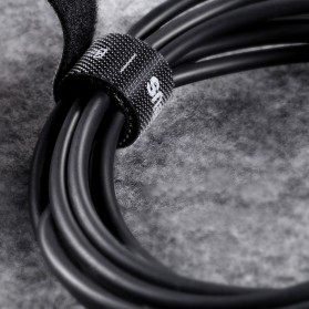 Baseus Cable Management Velcro Strap 3 Meter x 14 mm - ACMGT-F09 - Black - 3