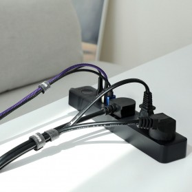 Baseus Cable Management Velcro Strap 3 Meter x 14 mm - ACMGT-F09 - Black - 7
