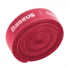 Baseus Cable Management Velcro Strap 3 Meter x 14 mm - ACMGT-F09 - Red