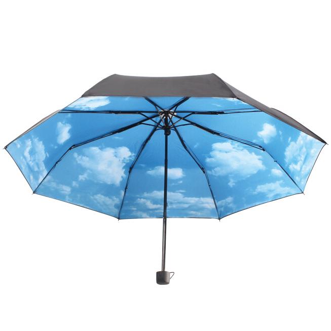 ... Hoco Payung Lipat Corak Langit Cerah - Black Blue - 1 ...