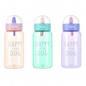 HOCO CP6 Botol Minum Happy Little Dog 450ml - Pink - 2
