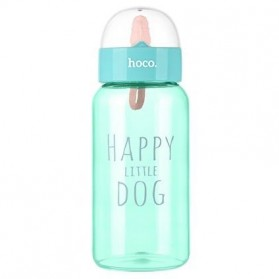 HOCO CP6 Botol Minum Happy Little Dog 450ml - Green