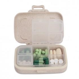 BUBM Kotak Obat Medicine Tablet Storage Box - BXYH-L - Gray - 2