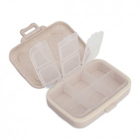 BUBM Kotak Obat Medicine Tablet Storage Box - BXYH-L - Gray - 3