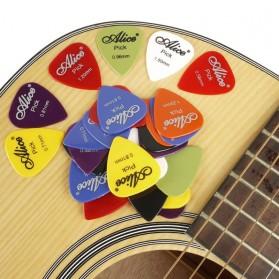 Alice Pick Gitar Akustik Frosted Face 24 PCS - Multi-Color - 7