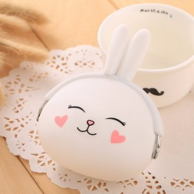 Dompet Koin Bentuk Rabbit - White