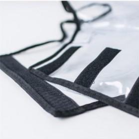 Cover Koper Transparan Waterproof 28 Inch - Transparent - 5