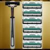 Perlengkapan Cukur Jenggot & Kumis - Mata Pisau Cukur Jenggot 2 Blade 6 PCS