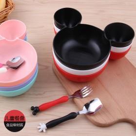 Sendok Garpu Mickey Mouse Size L - Black/Red - 2