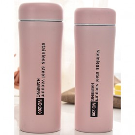 Botol Thermos Stainless Steel 500ML - Pink