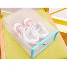 Kotak Sepatu Plastik Bongkar Pasang Shoe Rack Storage Box - XYG089 - Multi-Color - 2