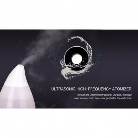 Taffware Mini Air Humidifier Ultrasonic Aromatherapy Oil Diffuser - HUMI H121 - White - 4