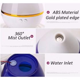 Taffware Mini Ultrasonic Air Humidifier Aroma Therapy - HUMI H121 - Blue - 9