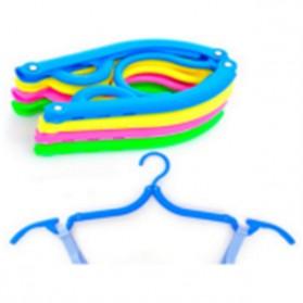 Gantungan Baju Travel Lipat - Multi-Color