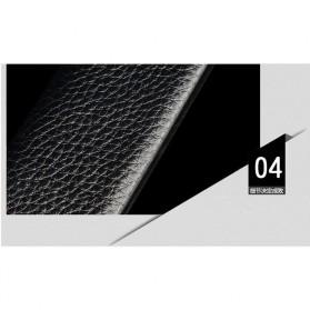 ONEPAUL Tali Ikat Pinggang Kulit Pola Lychee - CF001 - Black - 2