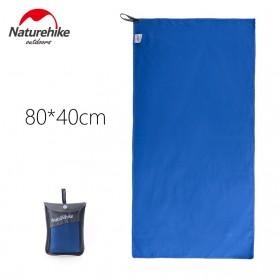 Naturehike Handuk QuickDry Size 80 x 40cm - Blue