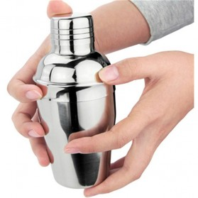Cocktail Shaker Japanese Stainless Steel 250ml - Silver - 2