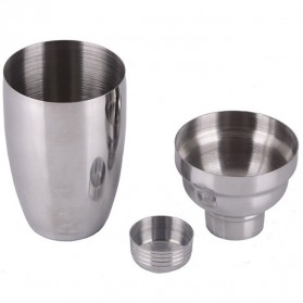 Cocktail Shaker Japanese Stainless Steel 250ml - Silver - 5