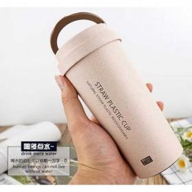 Botol Minum Coffee Cup 400ml - Pink - 4