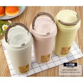 Botol Minum Coffee Cup 400ml - Pink - 6