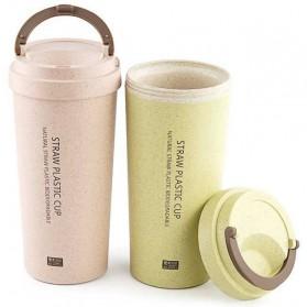 Botol Minum Coffee Cup 400ml - Pink - 7