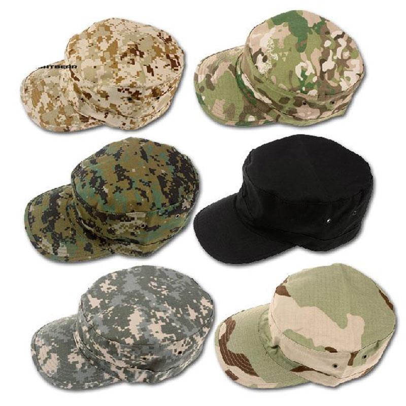 Topi Militer Komando Camouflage - Black - JakartaNotebook.com 7ac920fb9e