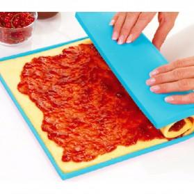 DIY Roll Cake Mat - Blue - 2