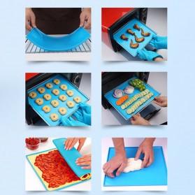 DIY Roll Cake Mat - Blue - 4