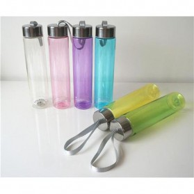Botol Minum Plastik H2O 280ml - White - 4