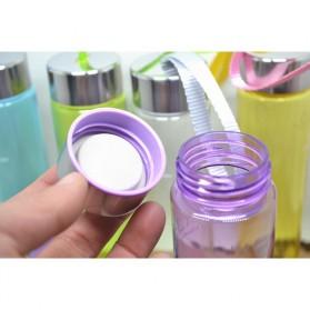 Botol Minum Plastik H2O 280ml - White - 7