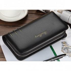 Dompet Kulit Pria Premium Model Panjang - Black - 2