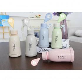 Botol Minum Plastik Enjoy 400ml - Pink