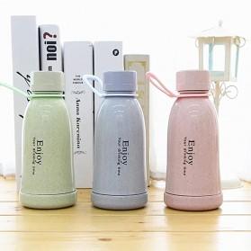 Botol Minum Plastik Enjoy 400ml - Pink - 2