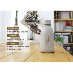 Botol Minum Plastik Enjoy 400ml - Pink - 7